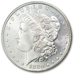1880 S BU Morgan Dollar