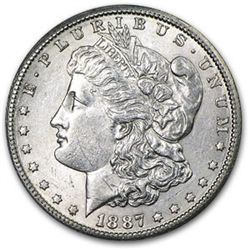 1887 P BU Morgan Dollar