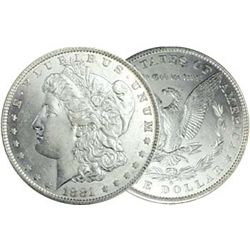 1881 O BU Morgan Dollar