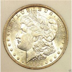 1886 P BU Morgan Dollar
