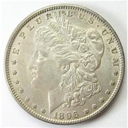 1896 P BU Morgan Dollar