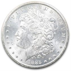 1885 P BU Morgan Dollar