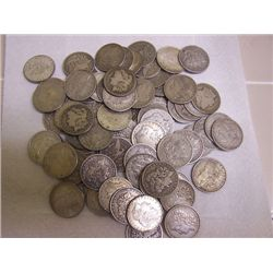 Lot of 50 Morgan Dollars
