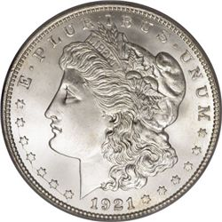 1921 UNC Morgan Silver Dollar