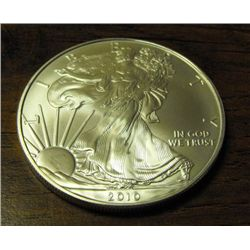(1) Silver Eagle Bullion Coin - Random