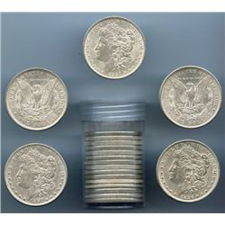 (20) Morgan Silver Dollars -ag-vg