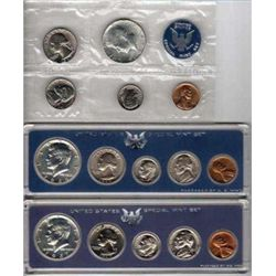 1965,6,7 Special Mint Sets