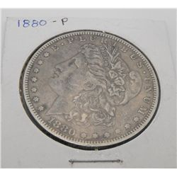 1880 P VG Grade Morgan Dollar