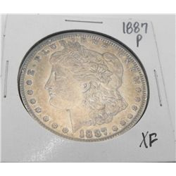 1887 P XF Grade Morgan