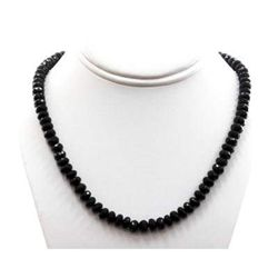 Black Spinal 288.32 ctw Necklace