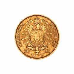 German 20 Mark Gold Coin