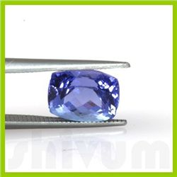 Genuine Natural 2.84 ctw Tanzanite Cushion Cut 8x10mm
