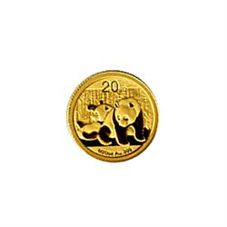 Chinese Gold Panda 20th Ounce 2010