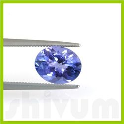 Genuine Natural 1.62 ctw Tanzanite Oval Cut AAA 6.5x9mm