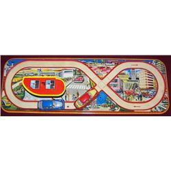 Technofix 299 Tin Litho Toy Racetrack