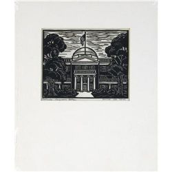 Annie Lee Ross Woodblock