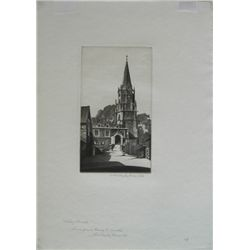 John Taylor Arms, Etching