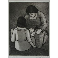Anthony Paglinea, Aquatint Etching