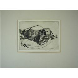Harry Knoobs, Etching