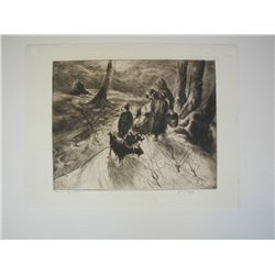 J. E. Costigan, Etching