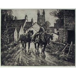 Leslie Cope, Etching