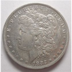 1882O/S  Morgan $ $ XF/AU