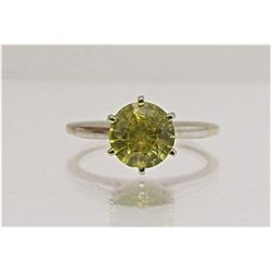 ET0503120180 14KYG Yellow Sphene Ring 2.10dwt