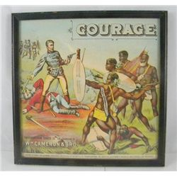 ET0503120009 British American tobacco litho COURAGE Br