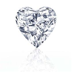 DIAMOND EGL CERTIFIED HEART 2.02 CTW G, SI2