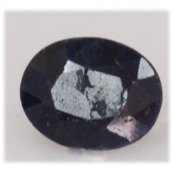 NATURAL 14.73 AFRICAN SAPPHIRE OVAL