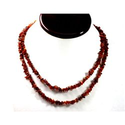 167.05 ctw Natural Smokie Quartz Bead Necklace