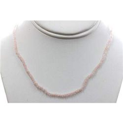Rose Quartz 26.50 ctw Necklace