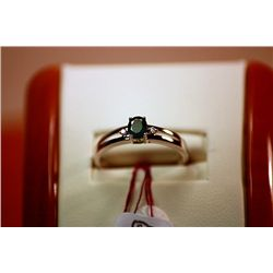 #137 - Fancy Unisex Columbian Emerald Ring
