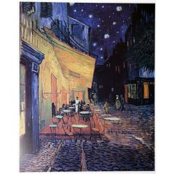 Café Terrace at Night by Van Gogh