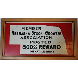 Nebraska Stockgrowers Sign