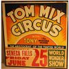 Tom Mix Show Poster