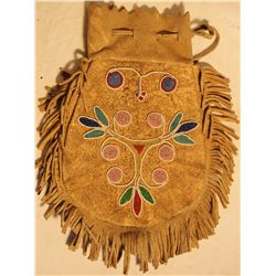Plains Beaded Tobacco Bag