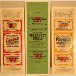 Winchester Shotgun Shell Wrappers