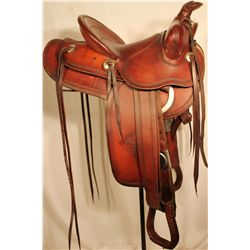 Mint Heiser Saddle