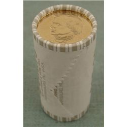 1 UNC Bank Roll 2011-D Johnson Presidential Dollars