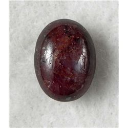 18 Carat Natural Cabochon Ruby Star Gemstone