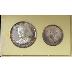 1964 Malta Silver Proof Set High Quality Coins