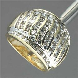 1.0 Ctw Diamond Band Ring - 10ky Gold