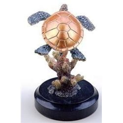 Sea Turtle Bronze Sculpture