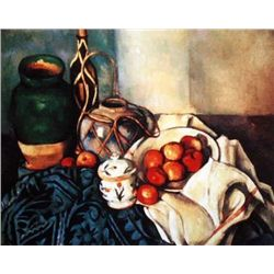 "Cezanne ""Still Life With Apples"""