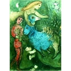 "Marc Chagall ""Circus Frontispiece"""
