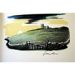 Original Signed Lithograph by Artist AE Housman