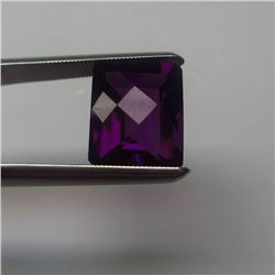 Loose Natural Amethyst 14mm x 10mm VERY NICE color tone