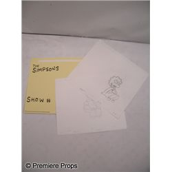 The Simpsons Sketches Lot