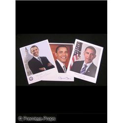 Lot of Signed President Obama Photos